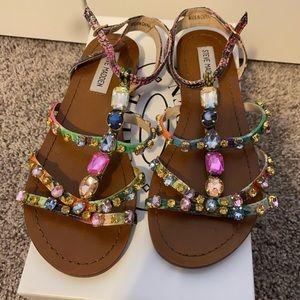 Steve Madden BJeweled Multi Color Sandal